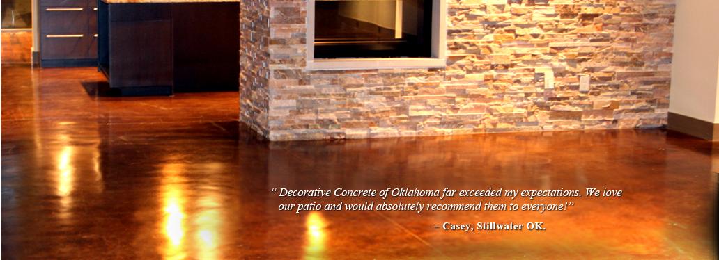 Decorative Concrete Of Oklahoma